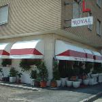  Facciata dell&#39;hotel Royal ad Alessandria