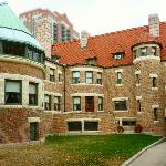 Interior Courtyard, Glessner House.  Public Rooms had southern exposure.