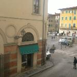  View from first floor room to Cathedral (Duomo) Square