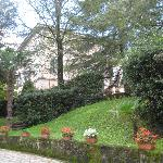 View of Residence i Colli from the entry gates