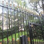 Entry gates to the Residence i Colli