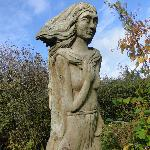  Statue on coastal path