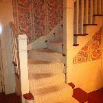 Main staircase - Carpet in need of serious cleaning