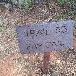  Start for Fay Canyon Trail