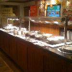 Our buffet counter