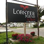 Lobster Pound Sign