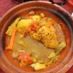 the remaining of tajine