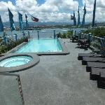 Rooftop Pool, always clean, always well maintained