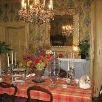 """The """"family"""" dining room"""