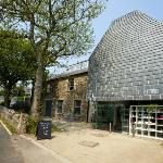 The exterior of Newlyn Art Gallery