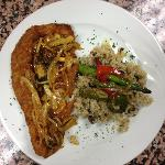  Breaded grouper