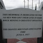 Granite Mountain Memorial Overlook