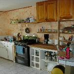  A well used kitchen