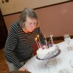  Mum and cake at Nailcote Hall