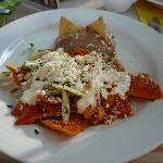  Los chilaquiles estn para quitar el sentido.