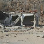 Building at the entrance after Sandy