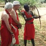 Learning how to use a bow and arrow