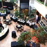  Atrium of the hotel our trade show