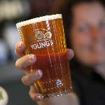 A great pint of youngs at the heart of your visit.