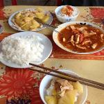 sweet and sour chicken/ pineapple chicken