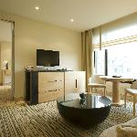 Executive Suite - Wohnbereich - Grand Hotel Esplanade Berlin