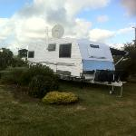 a typical large caravan site