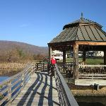 Boardwalk and Gazebo