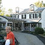 Upon our arrival - Front View of the Inn At Rooster Hill