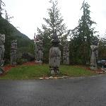 Totems at Ketchikan, Alaska