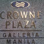 Photo de Crowne Plaza Manila Galleria
