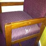 Anonymous upholstery stains