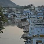  Pushkar Lake (fotografiert von der Dachterrasse)