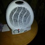plug in fan heater