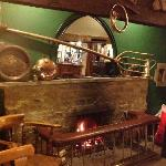 The open fire
