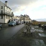"Quaint ""seafront"" of Parkgate"