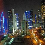 Doha City Centre at night