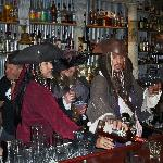 Pirates in the bar.
