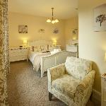 Superior king size en-suite room with seating area