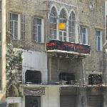The hotel , Damascus Road side