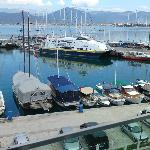  Fethiye harbour from room 309