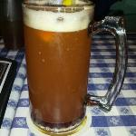 Special Request – German wheat beer with black raspberry syrup – yum!