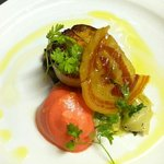 seared scallops on Eli's fall menu