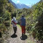 Andrew and Fredy on the Inca Trail