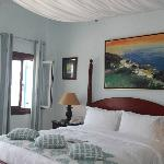 Our seaview room, spacious, comfy and exceeded our expectations.