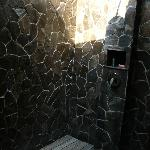 My personal favorite: the open air shower