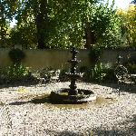 Outside Courtyard with fountain