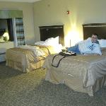 two queen bed room - spacious