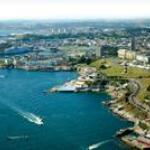  Aerial view of Plymouth Hoe and Edgcumbe Guest House