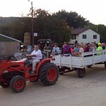 Hayride with the Family.