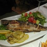 Wonderful grilled trout
